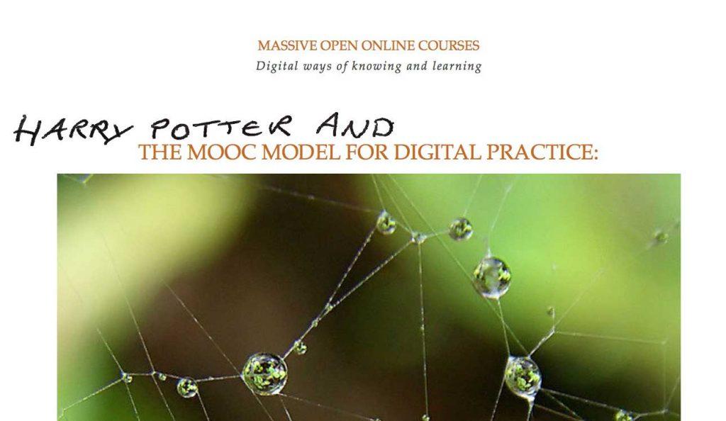 No sorcerer's stone, but hey, MOOCs are magic!
