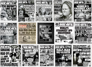 Weekly World News Covers