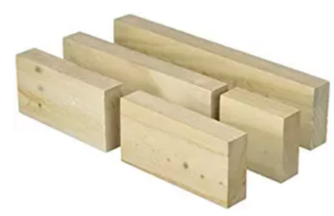 blocks of wood